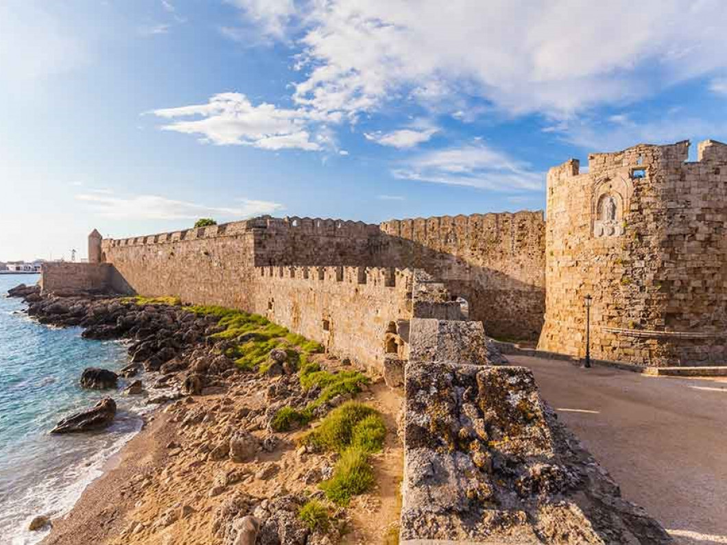 4. Rhodes is the most popular holiday spot in Greece