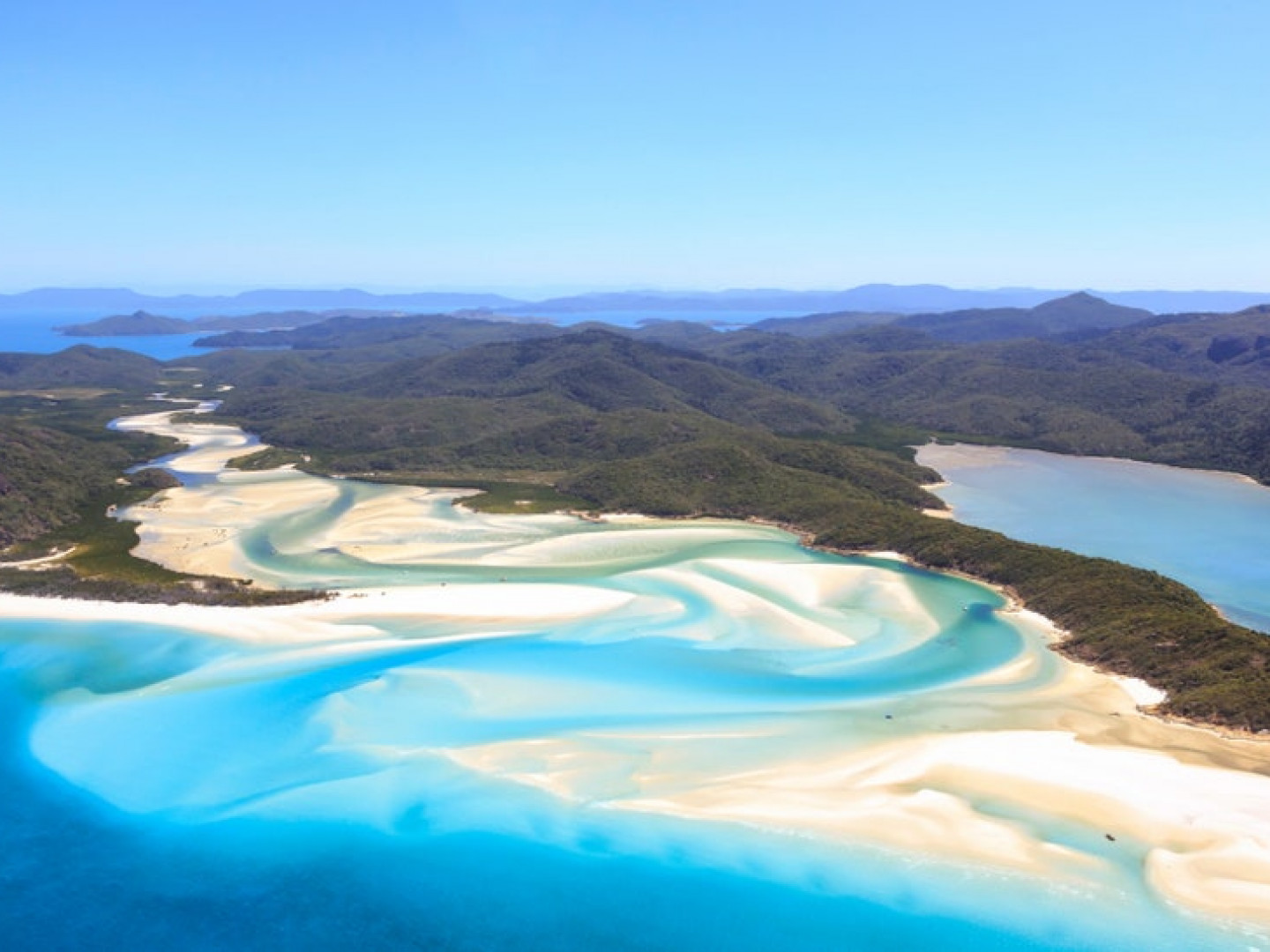 The Great Barrier Reef and Whitehaven Beach, Australia